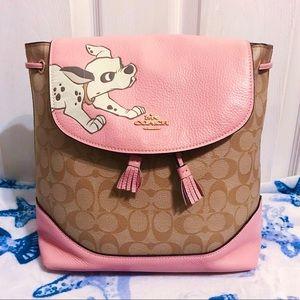 🐶 Disney X Coach 101 Dalmatian Backpack